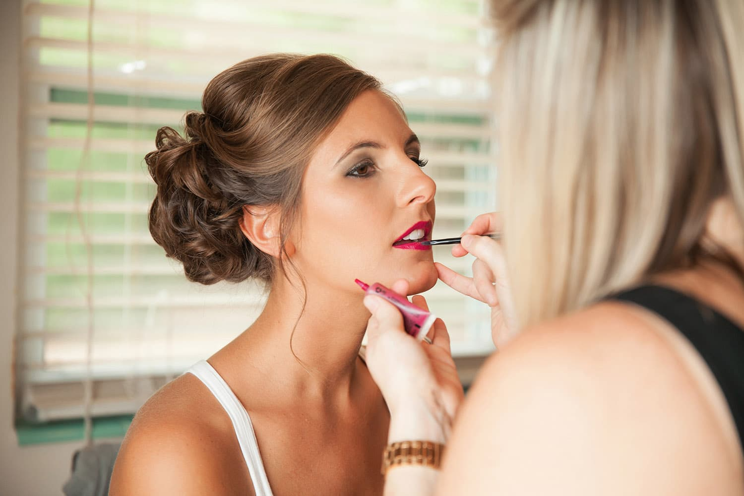bride airbrush makeup