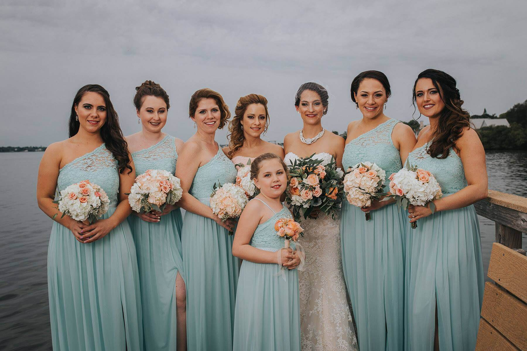Bridal Party Palmetto Riverside Bed & Breakfast
